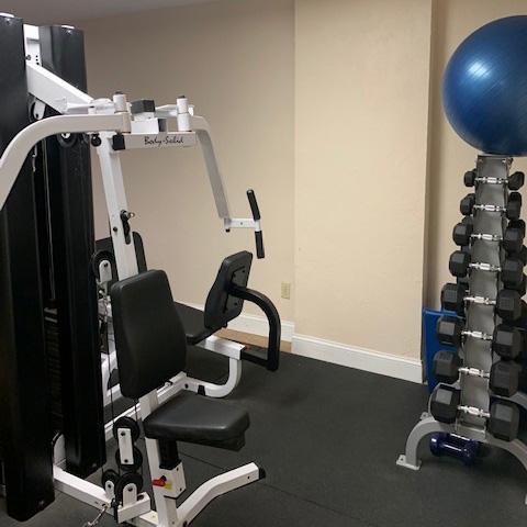 Atlantica Condo's Weight Room